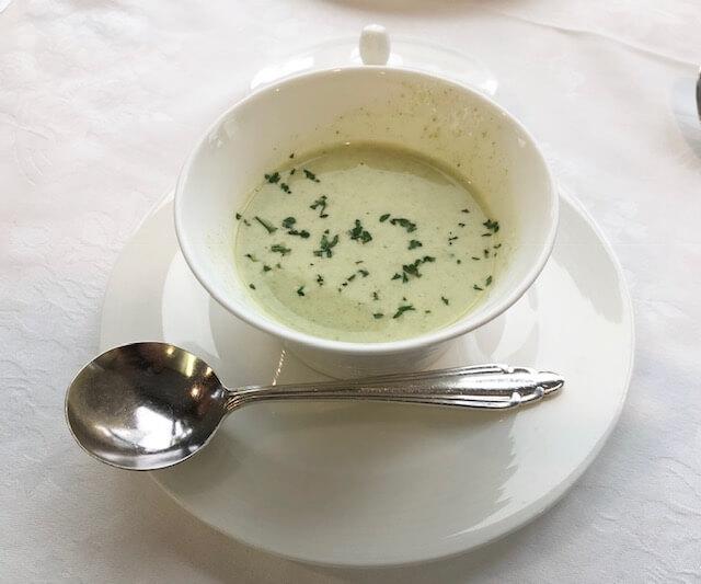 名鉄グランドホテルアイリスのランチ「スープ」