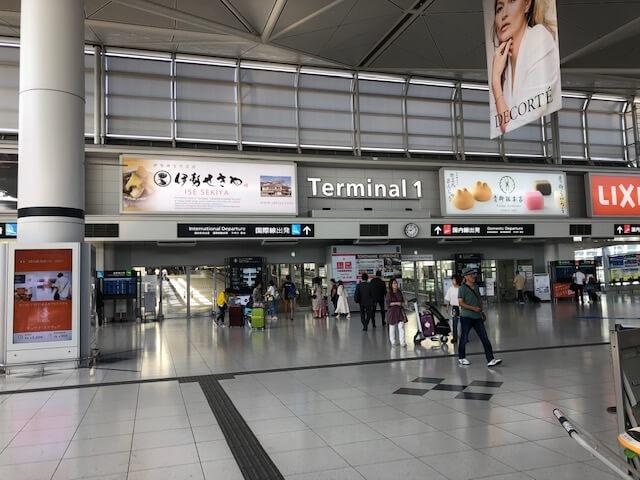 セントレア空港 ターミナル