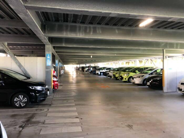 美ら海水族館の第七駐車場2