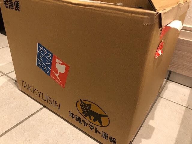 沖縄土産の箱