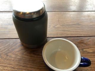 エイトパークカフェ犬山店のランチスープ