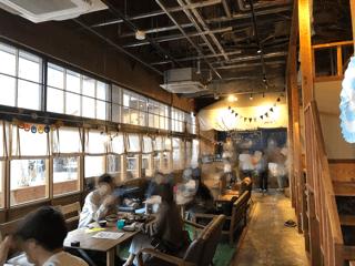 エイトパークカフェ犬山店は広い